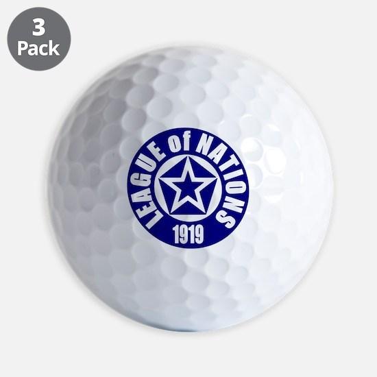 ART League of Nations 1919 Golf Ball