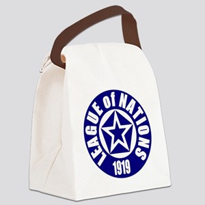 ART League of Nations 1919 Canvas Lunch Bag