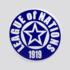 ART League of Nations 1919 Round Ornament