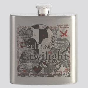 best new twilight t-shirts twilight sampler  Flask