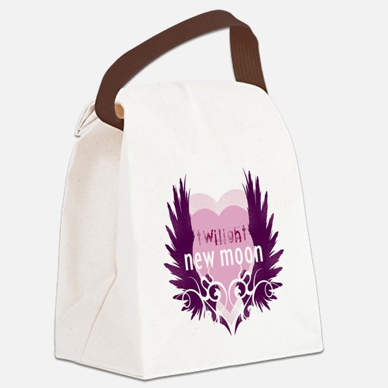twilight new moon best new twilig Canvas Lunch Bag