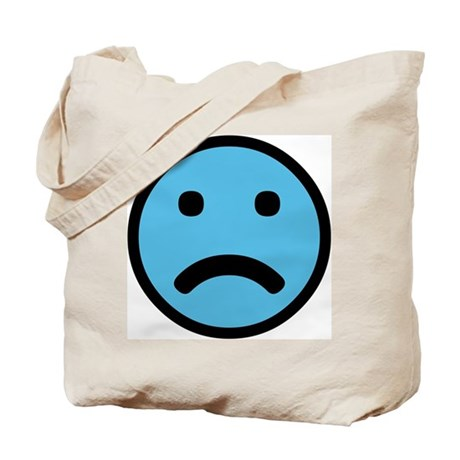 Sad Face Tote Bag