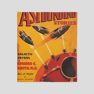 Astounding Stories Oct 1937 Throw Blanket