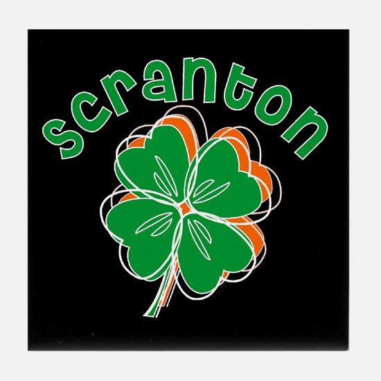 Scranton Shamrocks Tile Coaster