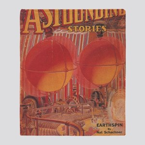 Astounding Stories 3 Throw Blanket