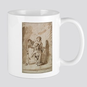 The Unruly Child - Rembrandt - c1635 11 oz Ceramic