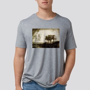 The three trees - Rembrandt - 1643 Mens Tri-blend