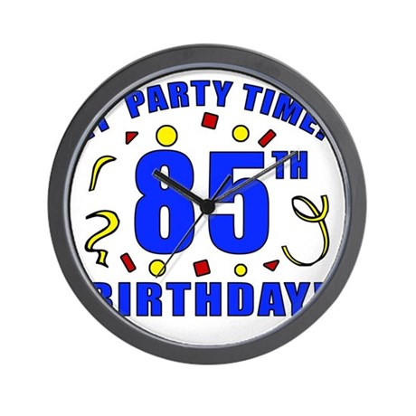 PartyTime85 Wall Clock