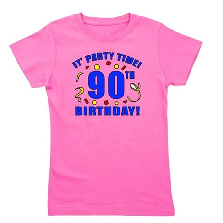 PartyTime90 Girl's Tee