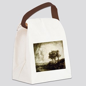 The three trees - Rembrandt - 1643 Canvas Lunch Ba