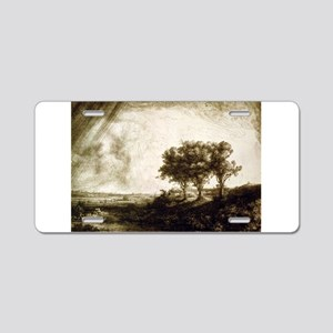 The three trees - Rembrandt - 1643 Aluminum Licens