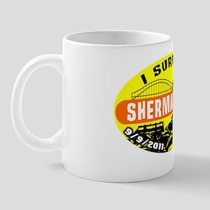 I Survived Shermageddon Badge Mug