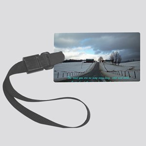 A Break In The Clouds Large Luggage Tag
