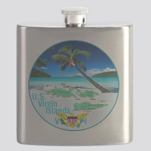 VIRGIN ISLANDS Flask