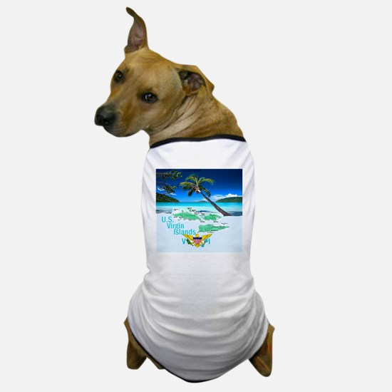 VIRGIN ISLANDS Dog T-Shirt