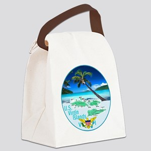 VIRGIN ISLANDS Canvas Lunch Bag