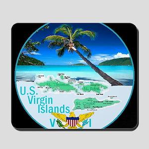 VIRGIN ISLANDS Mousepad
