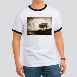 The three trees - Rembrandt - 1643 Ringer T
