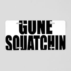 bobo squatchin Aluminum License Plate