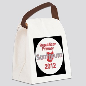 Santorum OHIO Canvas Lunch Bag