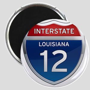 Interstate 12 - Louisiana Magnet