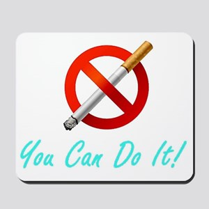 No Smoking Tee33 Mousepad