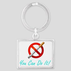 No Smoking Tee33 Landscape Keychain