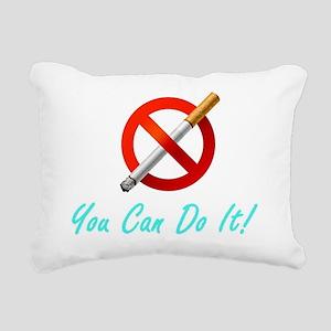 No Smoking Tee33 Rectangular Canvas Pillow