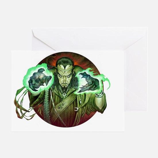 Warlock-Greeting Greeting Card