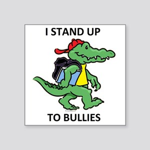 "aligator STAND 3 Square Sticker 3"" x 3"""