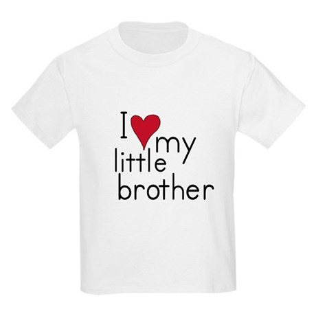 I love my little brother Kids T-Shirt