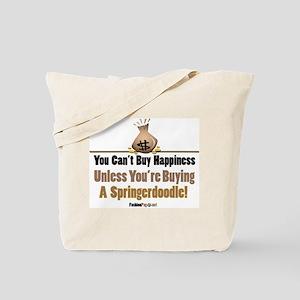 Springerdoodle dog Tote Bag