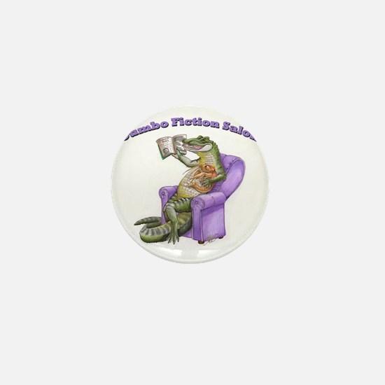 Gator Logo with Words Mini Button