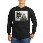 Bad Boss Bull's Eye Long Sleeve Dark T-Shirt