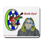 Bad Boss Bull's Eye Mousepad