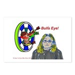 Bad Boss Bull's Eye Postcards (Package of 8)