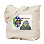 Bad Boss Bull's Eye Tote Bag