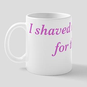 Shaved Clam Pink Mug