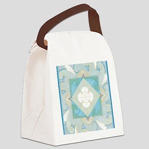 YemanjaBorder5inch Canvas Lunch Bag