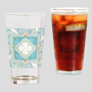 YemanjaBorder5inch Drinking Glass