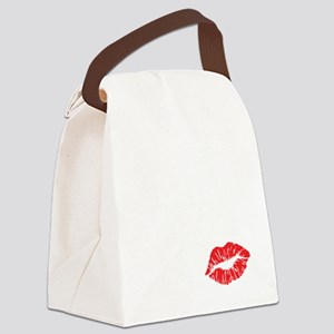 kissmyassdrk copy Canvas Lunch Bag