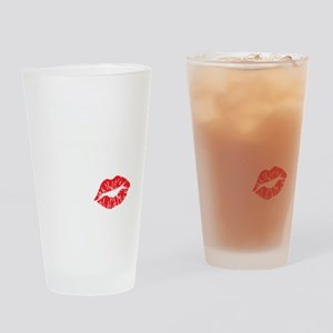 kissmyassdrk copy Drinking Glass
