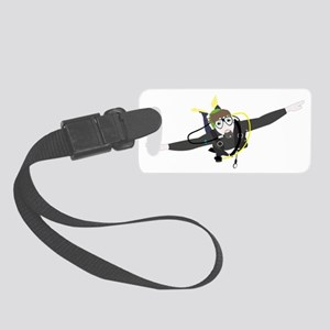 Diver Small Luggage Tag
