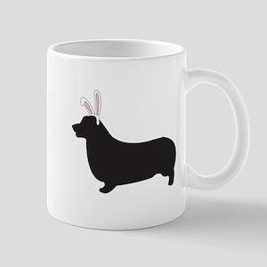 P. Corgi Bunny Mug