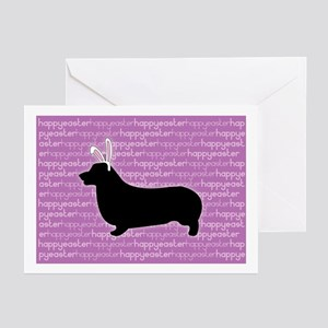 P. Corgi Bunny Greeting Cards (Pk of 10)