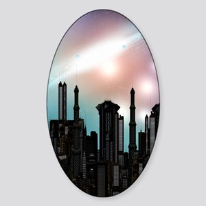 ft_ipad2cover Sticker (Oval)