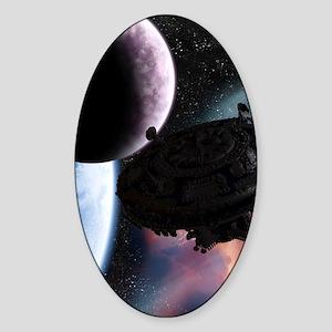 ss_kindle_sleeve_h_f Sticker (Oval)