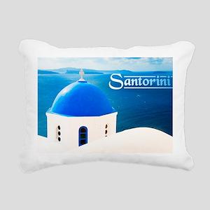 large print_0023_greece  Rectangular Canvas Pillow