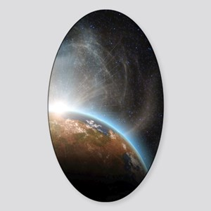 te_ipad_2 Sticker (Oval)