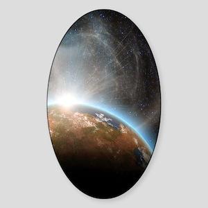 te_nook_sleeve_h_f Sticker (Oval)